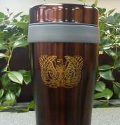 11-WO Eagle Brown Mug